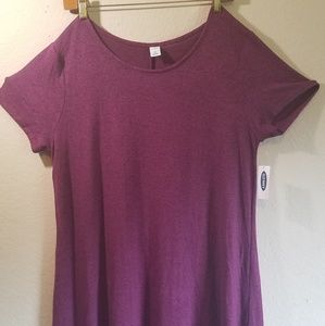 Old Navy Large Purple Long Dress  NWT